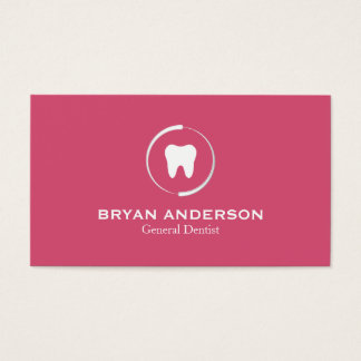 Elegant Dental Business Card