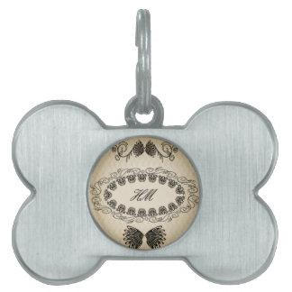 Elegant design pet tag