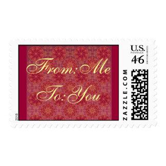 Elegant Designer Gift Stamps