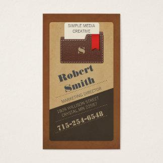 Elegant Diagonal Business Card Template