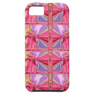Elegant Diamond Pattern Rose Pink Smile Happy Show iPhone SE/5/5s Case