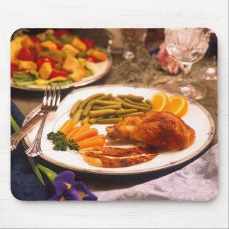 Elegant Dinner Mouse Pad