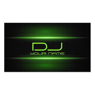 Elegant DJ Business Card