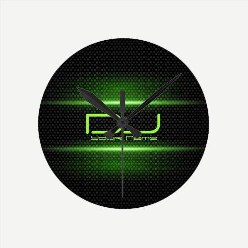 Elegant DJ Wall Clock