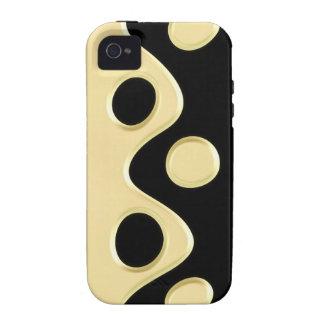 Elegant Dots Vibe iPhone 4 Case