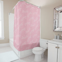 Elegant Dragonflies in Pink or Other Color Shower Curtain