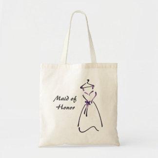 Elegant Dress Design with Customizable Slogan Budget Tote Bag
