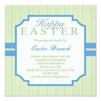 Elegant Easter Invitation