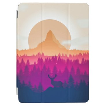 Elegant Eclipse Landscape Artwork   iPad Air Case