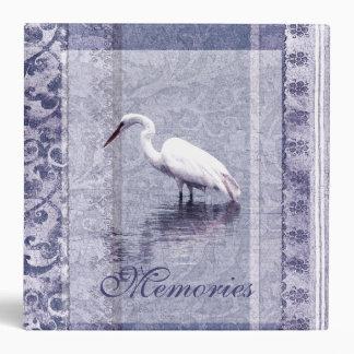 Elegant Egret Album Binder