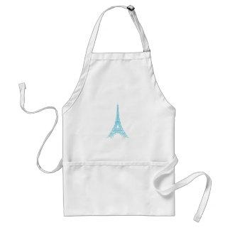 Elegant Eiffel Tower Paris Landmark Adult Apron