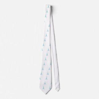 Elegant Eiffel Tower Paris Landmark Neck Tie