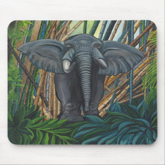 Elegant Elephant II Mousepad