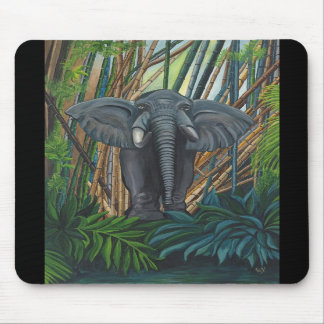 Elegant Elephant Mousepad