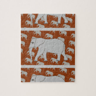 Elegant Elephant Photo Puzzle