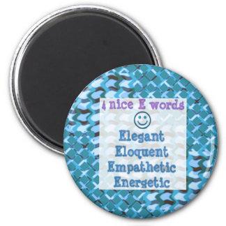 Elegant,ELOQUENT,Energetic, RELATIONSHIP lowprice Refrigerator Magnets