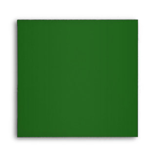 Elegant Emerald Green Linen Envelopes