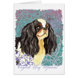 Elegant English Toy Spaniel Card