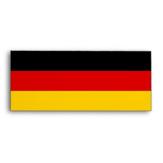 Elegant Envelope with Flag of  Germany