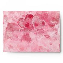 Elegant Envelope with Hearts