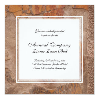 Elegant Etruscan Wall Paintings in Pompeii Antique Personalized Invite