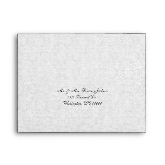 Elegant Event RSVP Envelope