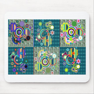 Elegant Exotic Artistic Pattern Stone Crystal GIFT Mouse Pad