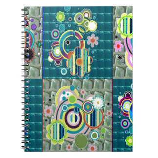 Elegant Exotic Artistic Pattern Stone Crystal GIFT Note Books