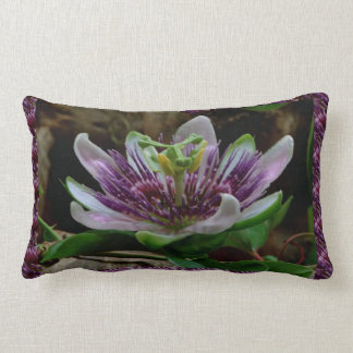 Elegant EXOTIC flower Template DIY Gifts floral Throw Pillow