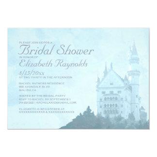 Elegant Fairytale Castle Bridal Shower Invitations
