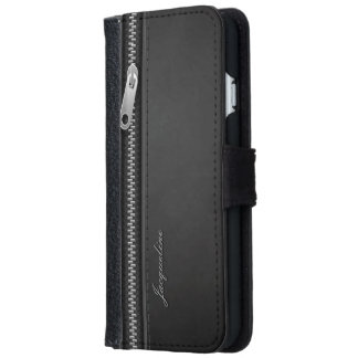 Elegant Fake Leather Style iPhone 6/6s Wallet Case