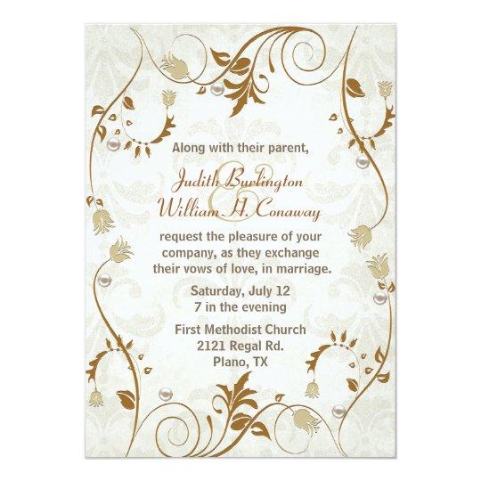Elegant Fall Wedding Invitation | Zazzle.com
