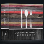 """Elegant Family Cookbook Wood Look #20 3 Ring Binder<br><div class=""""desc"""">Elegant Family Cookbook Wood Look. Please Select Customize. Remove or change Information prior to purchase. Design is available on other products.</div>"""