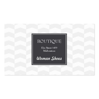 Elegant fashion store business card pack of standard business cards