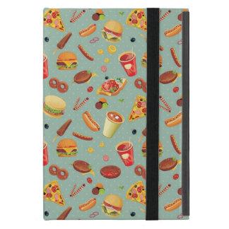 Elegant Fast Food Pattern Case For iPad Mini