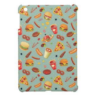 Elegant Fast Food Pattern iPad Mini Cases