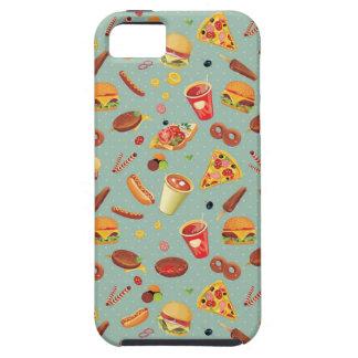 Elegant Fast Food Pattern iPhone SE/5/5s Case