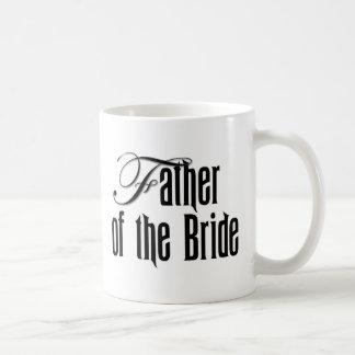 Elegant Father of the Bride Classic White Coffee Mug