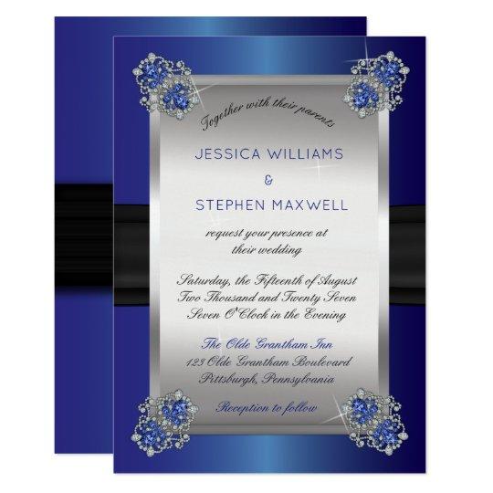 Diamond Wedding Invitation Label: Diamond Wedding Invitations