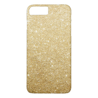 Elegant Faux Gold Glitter Luxury iPhone 7 Plus Case