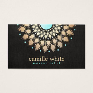 Lotus flower business cards templates zazzle elegant faux gold lotus flower black business card colourmoves