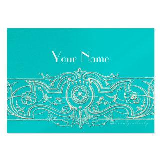 Elegant Filigree Custom Business Cards