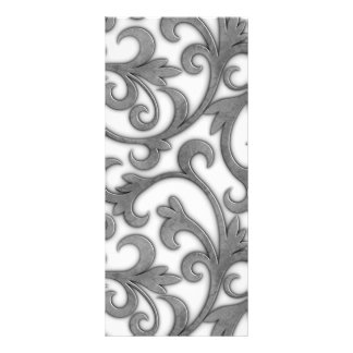 Elegant Filigree Rack Card Design