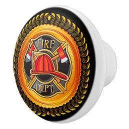 Elegant Fire Department Drawer Knobs - SRF