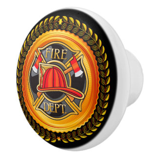 Elegant Fire Department Drawer Knobs - SRF