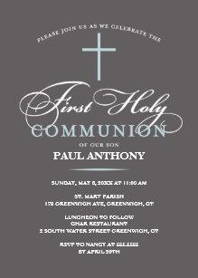 First Communion - 1st Holy Communion Invitations   Zazzle
