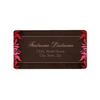 Elegant Floral Address Labels