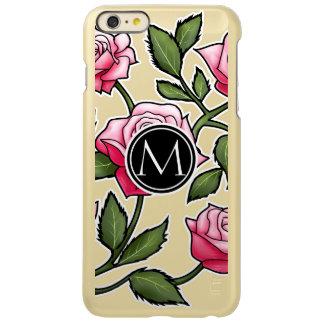 Elegant Floral and Monogram Incipio Feather Shine iPhone 6 Plus Case