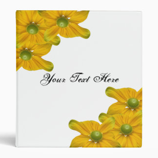 Elegant Floral Avery Binder