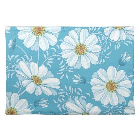 Elegant Floral Background   Place Mat
